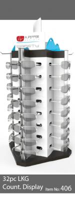 32pc locking eyewear display - 406