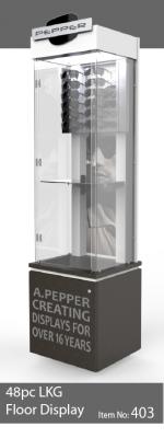 48pc locking sunglass display case - 403