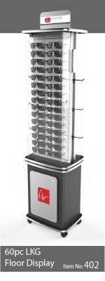 60pc 2 sided locking eyewear display - 402