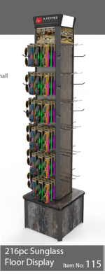 216pc Readers display stand - 115
